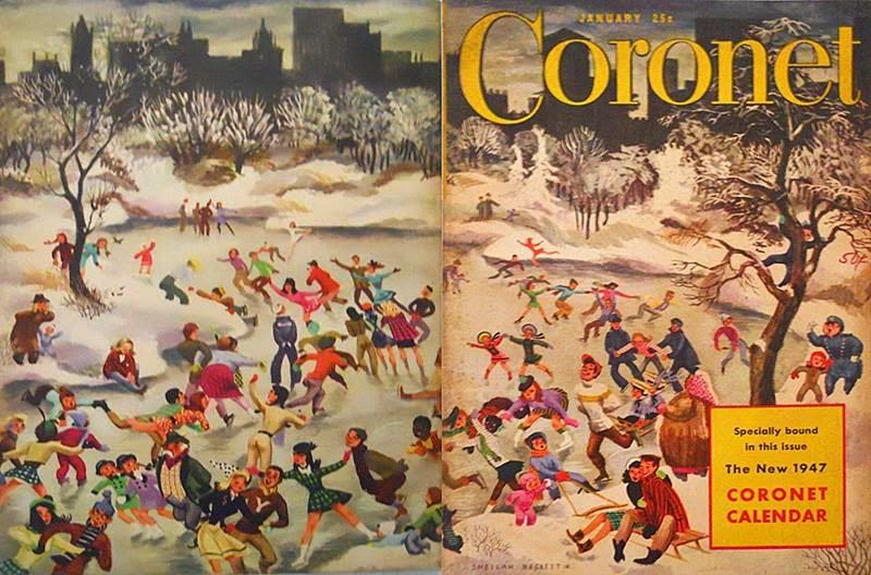 winter wonderland illustrated (6/6)